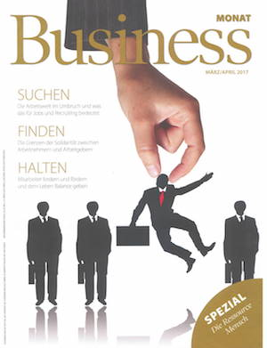 Business MONAT Titel März April 2017