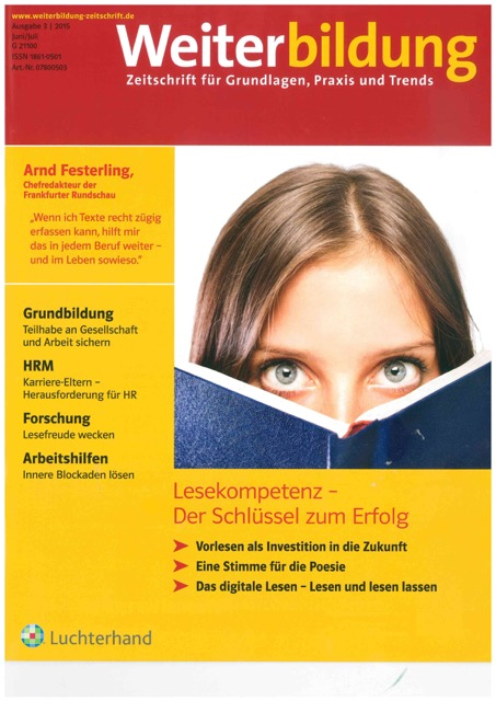 Weiterbildung Magazin 2/2016