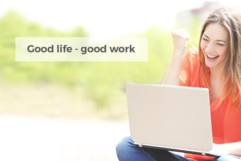 teamspirit, good life - good work